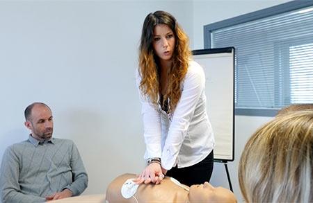 formation défibrillateur DAE